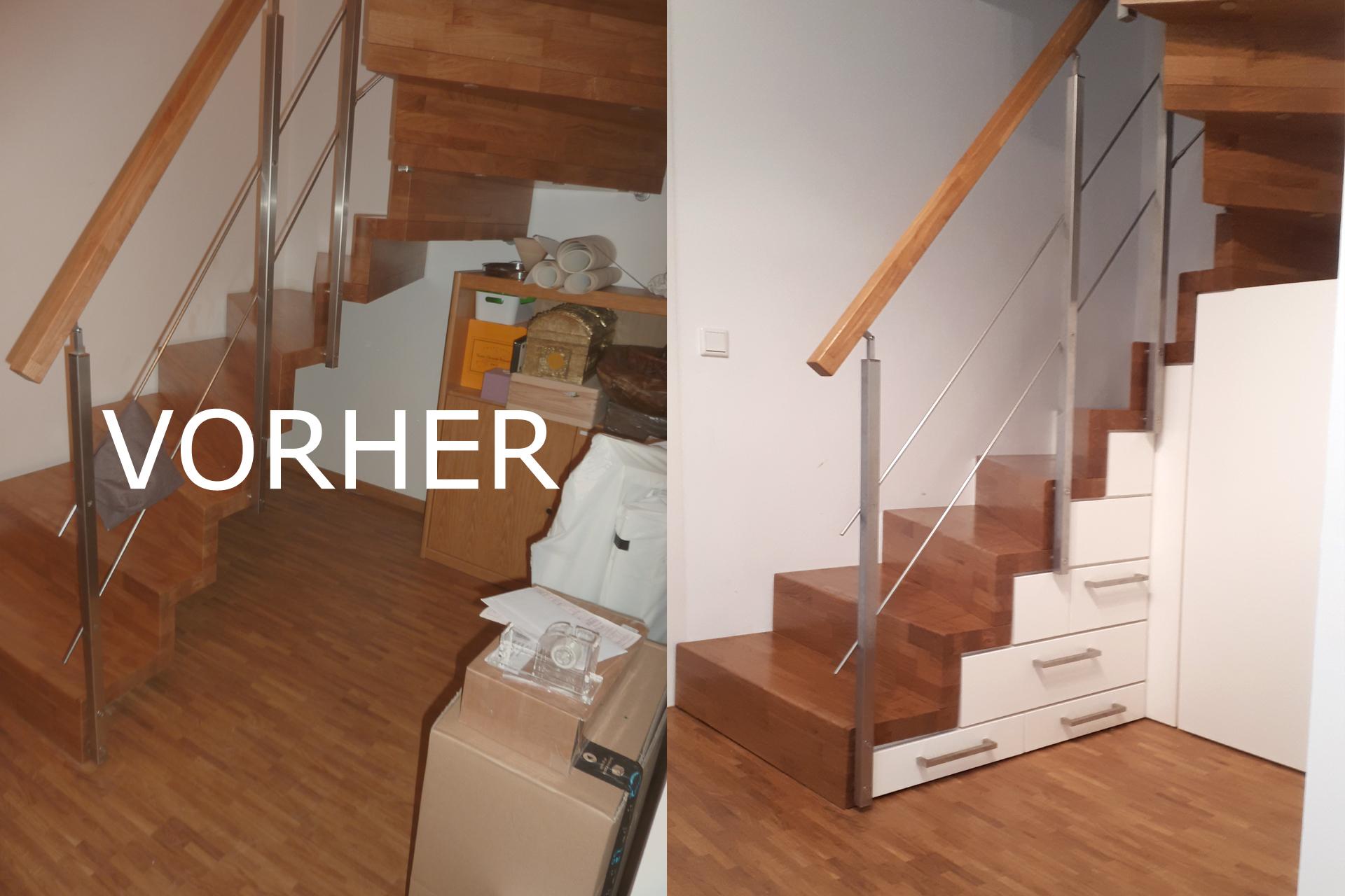 Treppenschrank vom Schreiner 1